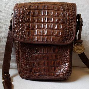 Brahmin vintage leather crossbody bag
